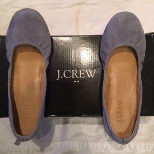 J. CREW FACTORY Suede Anya Ballet flats